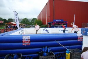 Outdoor Event Synthetic Rink