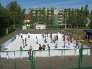 Outdoor Synthetic Rink
